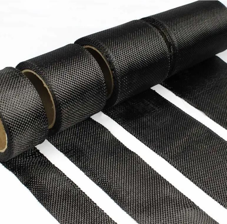Toray T700 100% Carbon Fiber Fabric Roll Building And Construction Reinforce